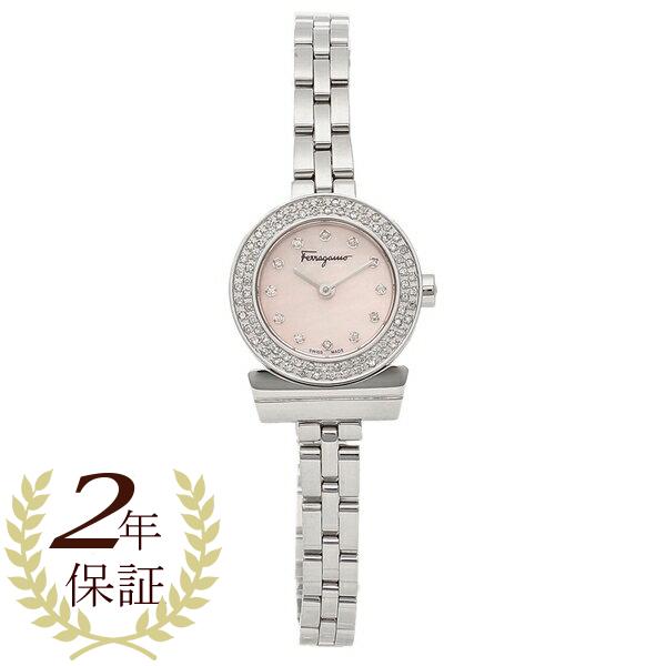 Salvatore Ferragamo 腕時計 レディース フェラガモ SFBF00418 シルバー ピンク
