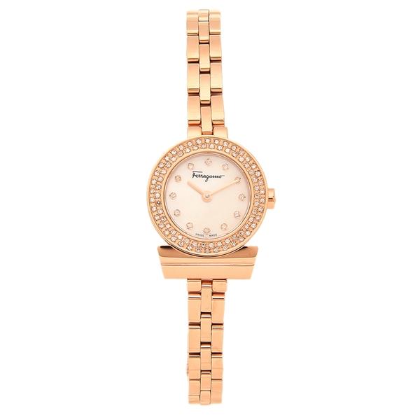 Salvatore Ferragamo 腕時計 レディース フェラガモ SFBF00518 ローズゴールド
