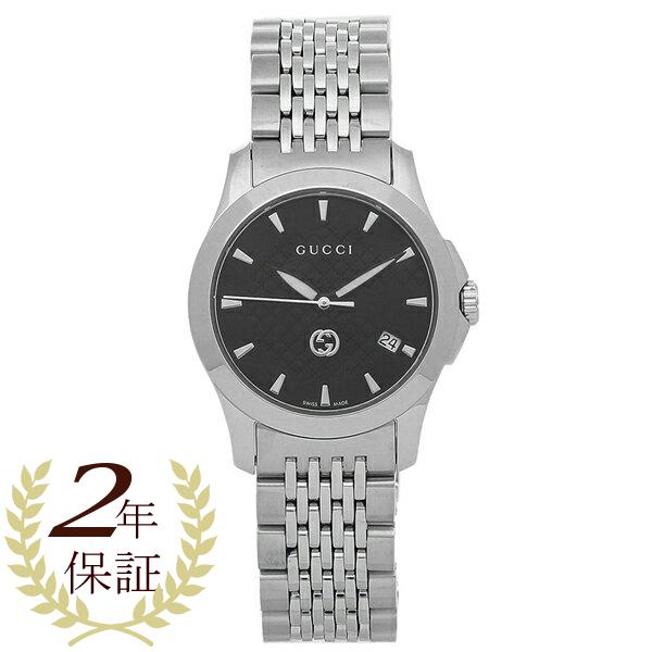 GUCCI 腕時計 レディース グッチ YA1265006 シルバー ブラック