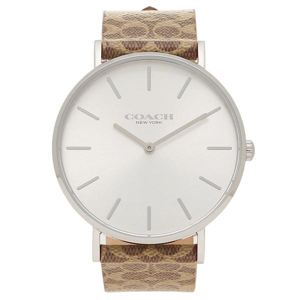 COACH 腕時計 レディース コーチ 14503122 シルバー ブラウン