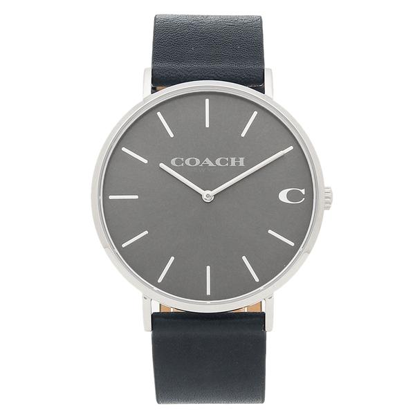 COACH 腕時計 メンズ コーチ 14602150 グレー シルバー ダークネイビー