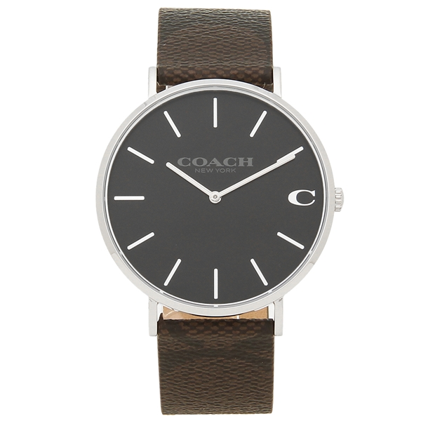 COACH 腕時計 メンズ コーチ 14602156 ブラウン ブラック