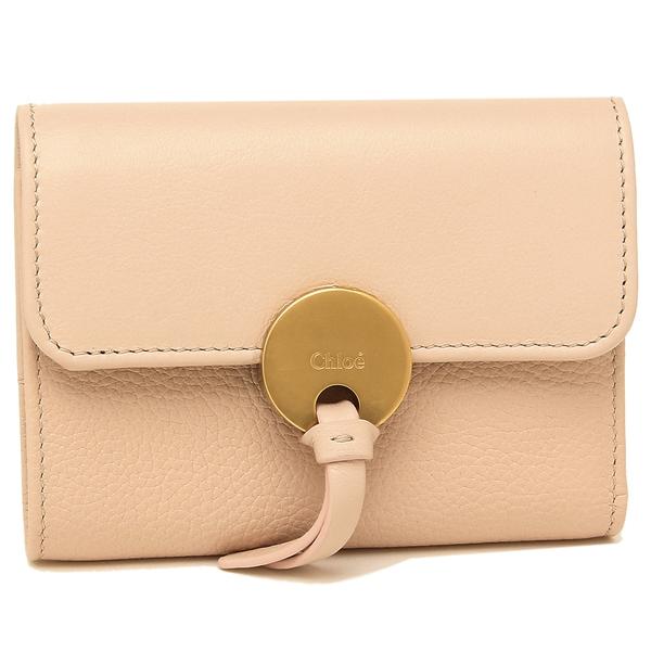 CHLOE 折財布 レディース クロエ CHC17SP853H8J 6J5 ピンク