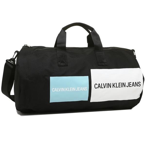 CALVIN KLEIN ボストンバッグ アウトレット メンズ レディース カルバンクライン 46301668 400 ブラックマルチ