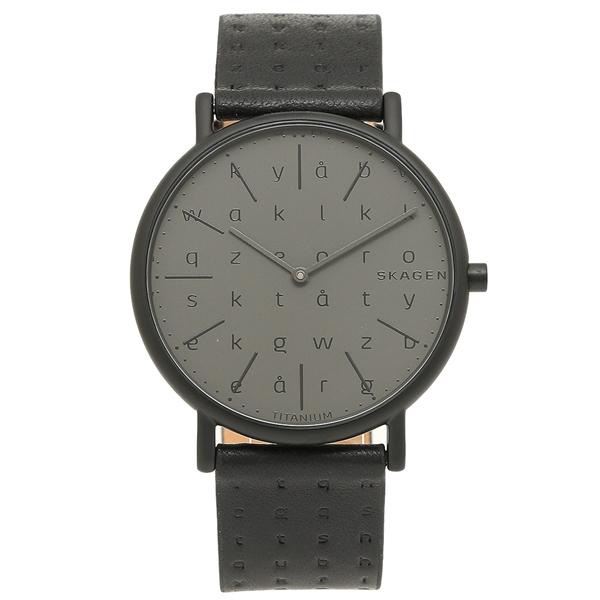 SKAGEN 腕時計 メンズ スカーゲン SKW6490 グレーブラック
