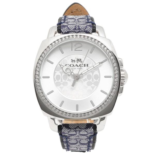コーチ 時計 レディース COACH 14502417 BOYFRIEND ボーイフレンド 腕時計 ウォッチ シルバ-/ブル-