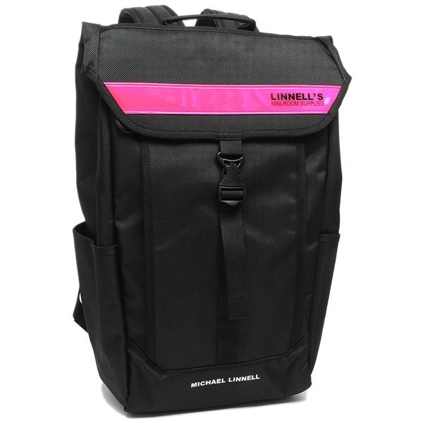 MICHAEL LINNELL メンズ レディース リュック マイケルリンネル ML025 BKP ブラック ピンク