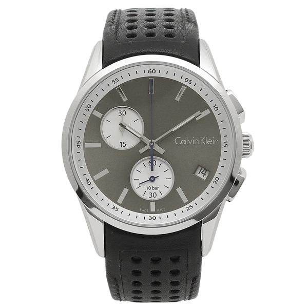 CALVIN KLEIN 腕時計 メンズ カルバンクライン K5A371.C3 シルバー ブラック