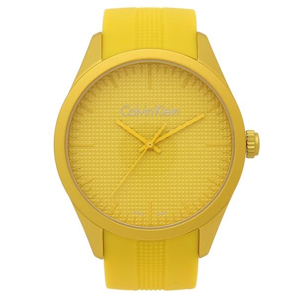 CALVIN KLEIN 腕時計 メンズ/レディース カルバンクライン K5E51H.FY イエロー