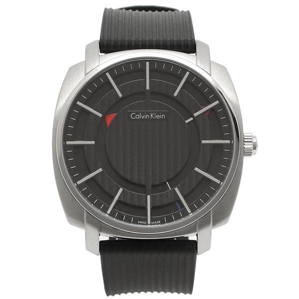 CALVIN KLEIN 腕時計 メンズ カルバンクライン K5M3X1.D1 シルバー ブラック