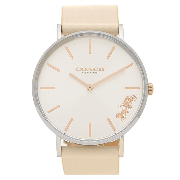 COACH 腕時計 レディース コーチ 14503117 クリーム シルバー ローズゴールド