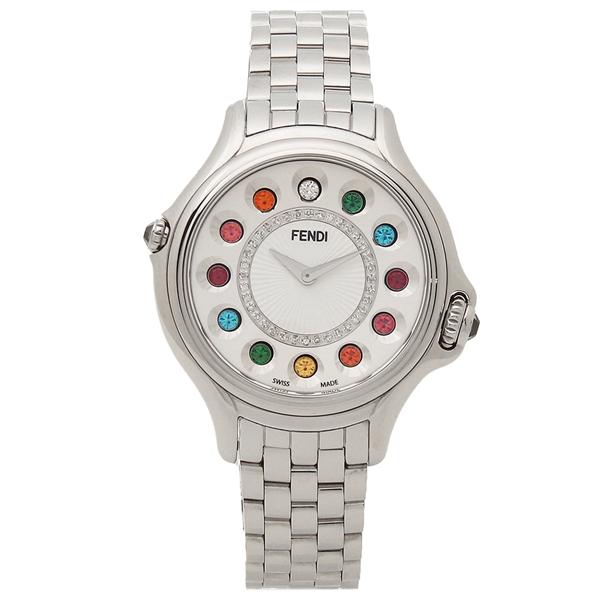 FENDI 腕時計 レディース フェンディ F107024000D2T05 シルバー ホワイト マルチカラー