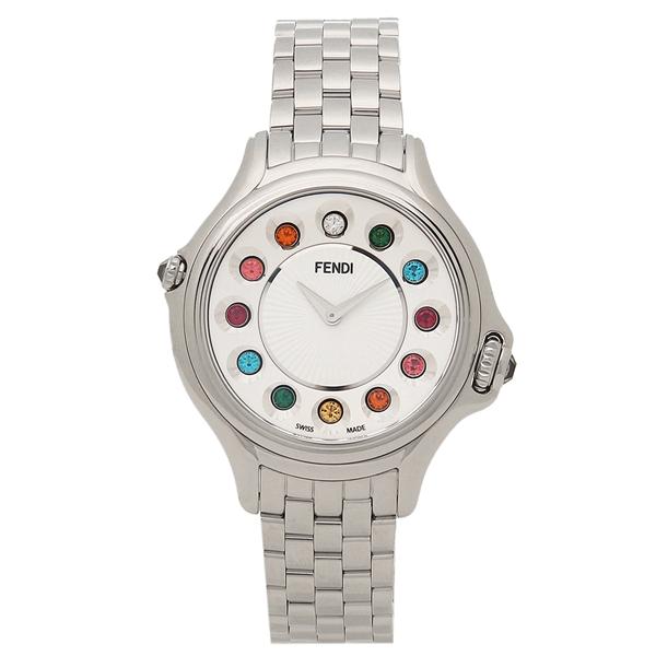 FENDI 腕時計 レディース フェンディ F107024000T05 シルバー ホワイト マルチカラー