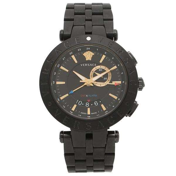 VERSACE 腕時計 メンズ ヴェルサーチ 29G60D009S060 ガンメタルブラック ローズゴールド