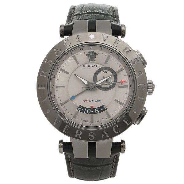 VERSACE 腕時計 メンズ ヴェルサーチ 29G98D535S009 ブラック シルバー