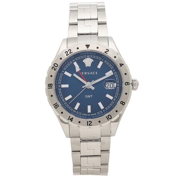 VERSACE 腕時計 メンズ ヴェルサーチ V11010015 ブルー シルバー