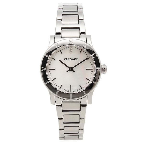 VERSACE 腕時計 レディース ヴェルサーチ VQA080017 シルバー ホワイトパール