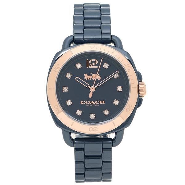 COACH 腕時計 レディース コーチ 14502753 ネイビー ゴールド