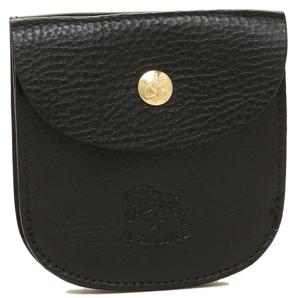 イルビゾンテ 財布 レディース/メンズ IL BISONTE C0405-P 153 2つ折り財布 BLACK