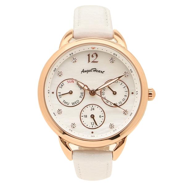 ANGEL HEART 腕時計 レディース ソーラー エンジェルハート LH33P-WH ホワイト ホワイトパール ピンクゴールド