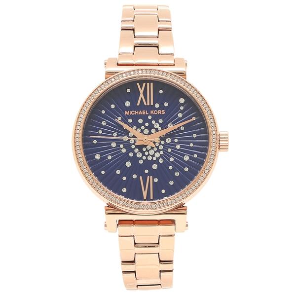 MICHAEL KORS 腕時計 レディース マイケルコース MK3971 ローズゴールド ブルー