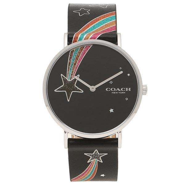 COACH 腕時計 レディース コーチ 14503039 ブラック マルチカラー