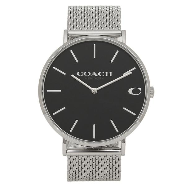 COACH 腕時計 メンズ コーチ 14602144 シルバー ブラック