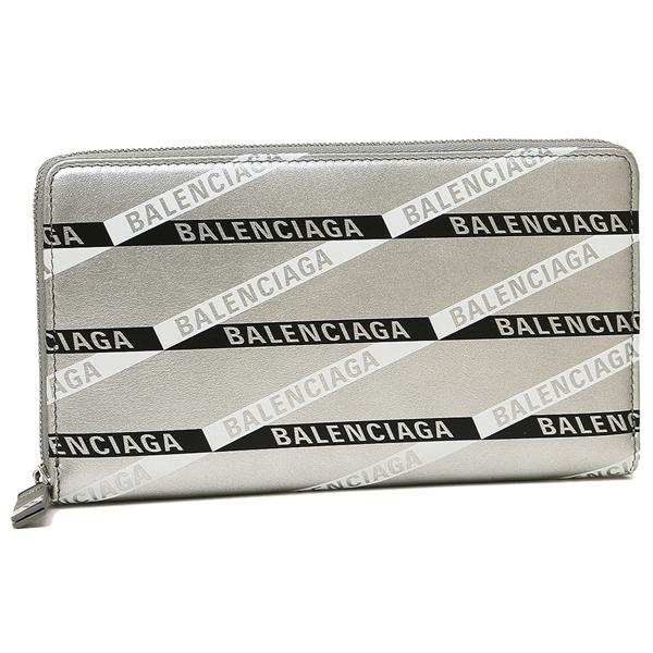BALENCIAGA 長財布 レディース バレンシアガ 551935 00T0N 1480 シルバー マルチ