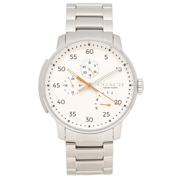 COACH 腕時計 メンズ コーチ 14602358 シルバー ホワイト