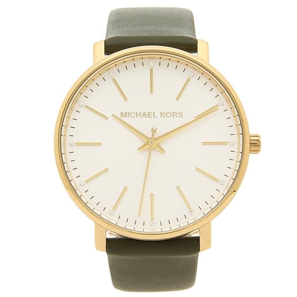 MICHAEL KORS 腕時計 レディース マイケルコース MK2831 グリーン イエローゴールド