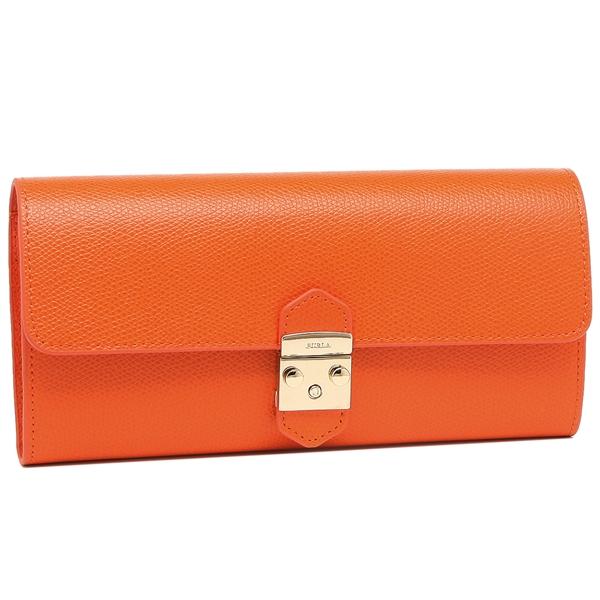 FURLA 長財布 レディース フルラ 1008256 PU37 ARE LS4 オレンジ