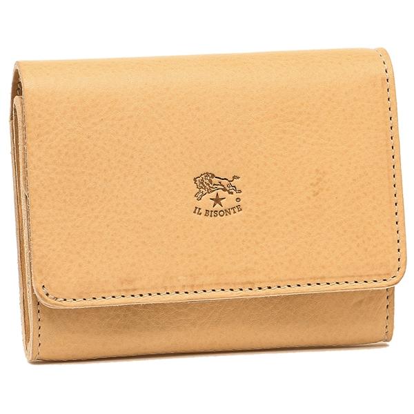 IL BISONTE 折財布 メンズ/レディース イルビゾンテ C1009P 120 ナチュラル