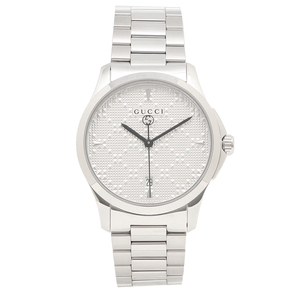 GUCCI 腕時計 レディース メンズ グッチ YA1264024 シルバー