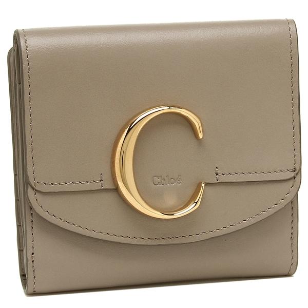 CHLOE 折財布 レディース クロエ CHC19SP056A37 23W グレー