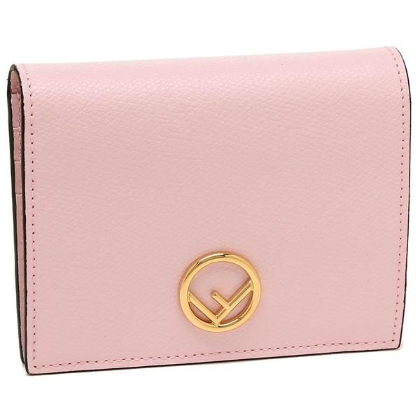 FENDI 折財布 レディース フェンディ 8M0387 A18B F01KW ピンク