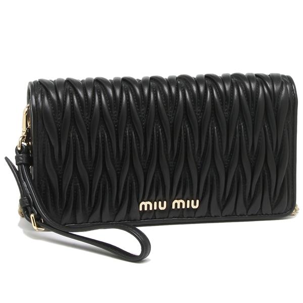 MIU MIU ショルダーバッグ レディース ミュウミュウ 5DH029 N88 F0002 ブラック