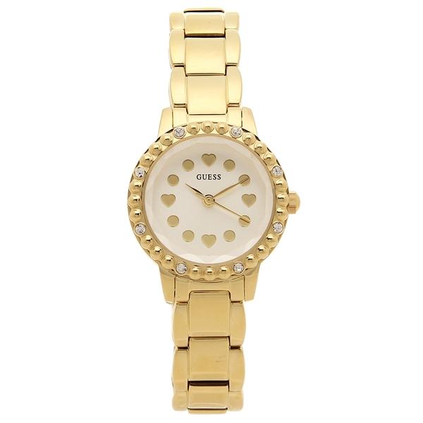 GUESS 腕時計 レディース アウトレット ゲス U0907L2 イエローゴールド