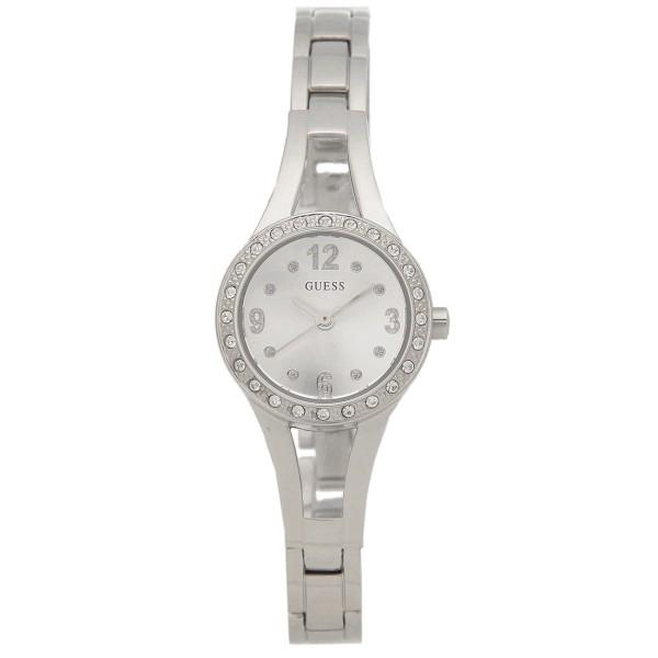 GUESS 腕時計 レディース アウトレット ゲス U1034L1 シルバー