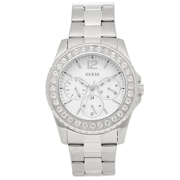 GUESS 腕時計 レディース アウトレット ゲス U11052L1 シルバー