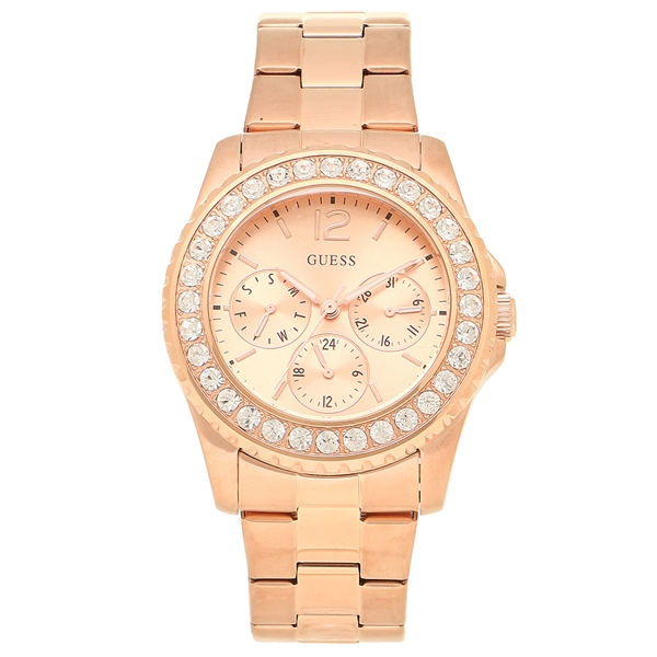 GUESS 腕時計 レディース アウトレット ゲス U12005L2 ローズゴールド