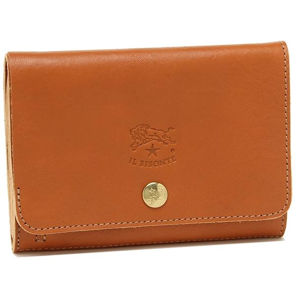 イルビゾンテ 折財布 レディース IL BISONTE C0521P 145 キャラメル