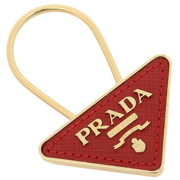 PRADA キーホルダー レディース プラダ 1PP301 053 F068Z レッド