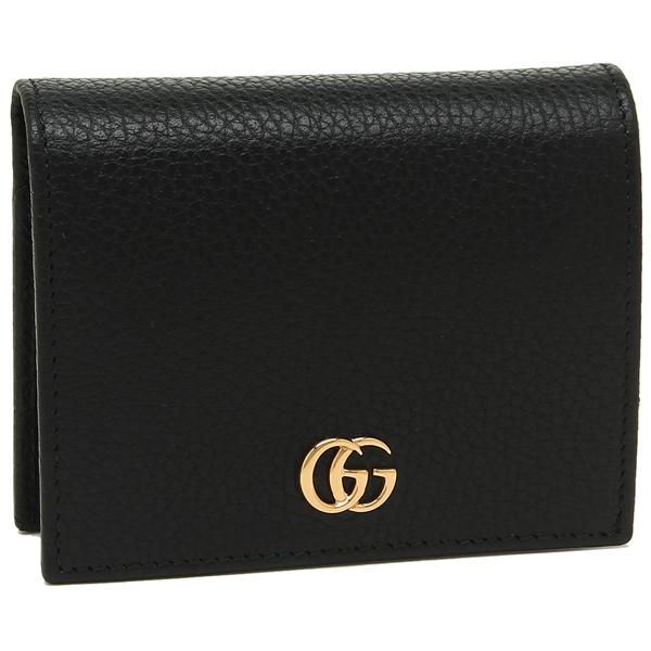 GUCCI 折財布 レディース グッチ 546586 CAO0G 1000 ブラック