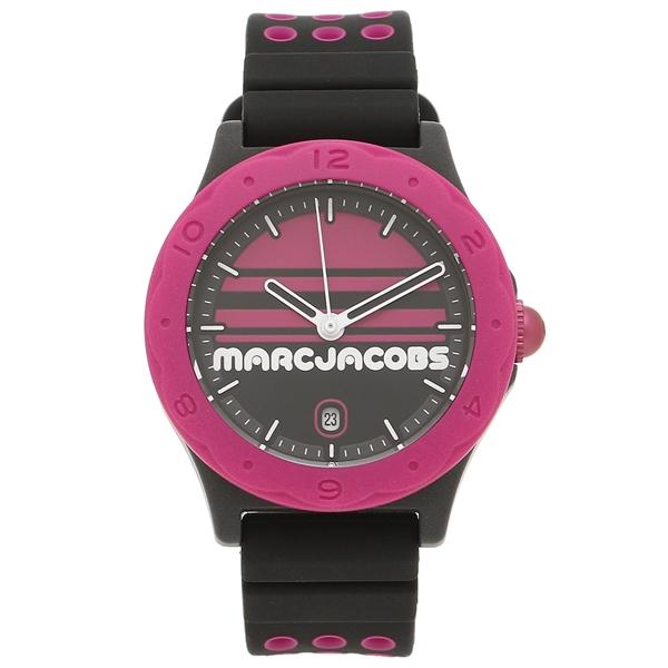 MARC JACOBS 腕時計 レディース マークジェイコブス MJ1652 ブラック ピンク