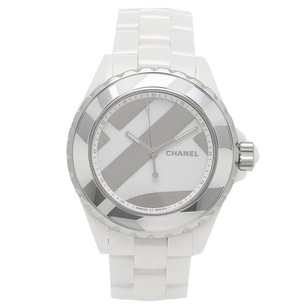 CHANEL 腕時計 メンズ シャネル H5582 ホワイト