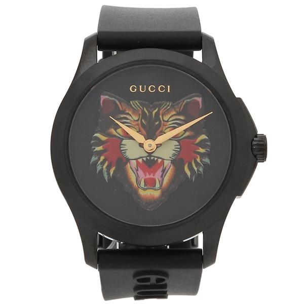 GUCCI 腕時計 メンズ グッチ YA1264021 ブラック