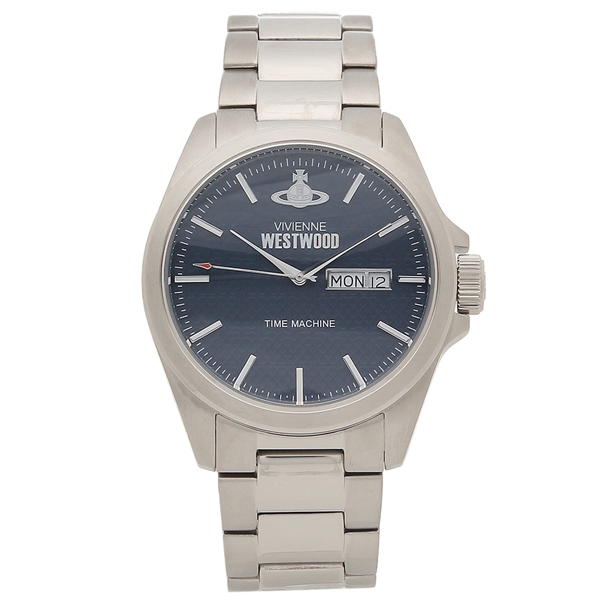 VIVIENNE WESTWOOD 腕時計 メンズ ヴィヴィアンウエストウッド VV063NVSL シルバー ブルー
