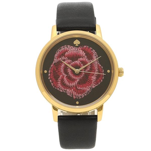 KATE SPADE 腕時計 レディース ケイトスペード KSW1459 ブラック ローズ