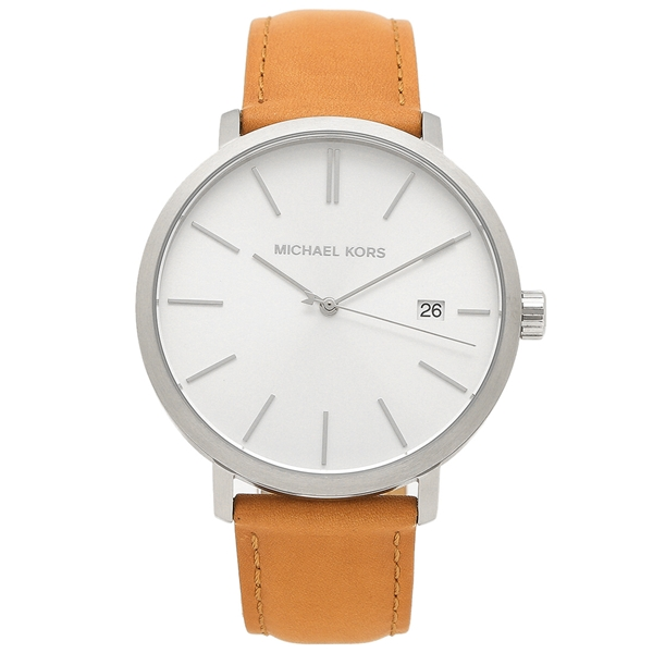 MICHAEL KORS 腕時計 メンズ マイケルコース MK8673 ブラウン シルバー