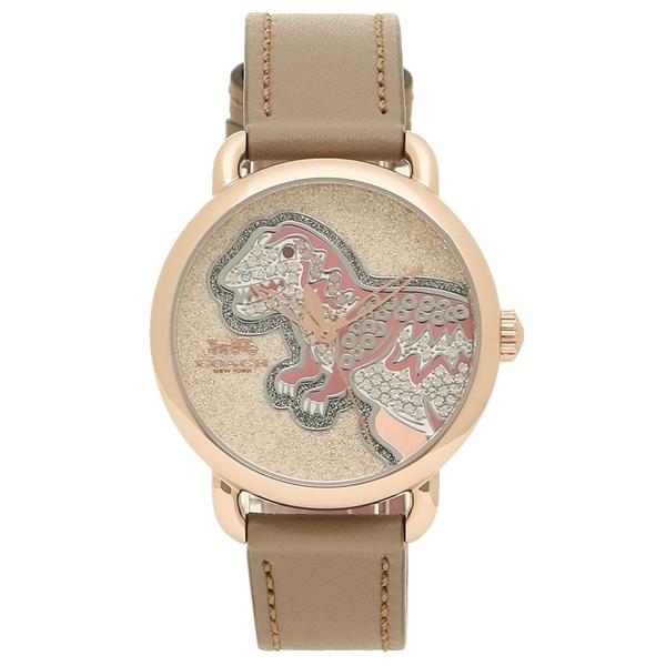 コーチ 腕時計 レディース 14503162 ピンクゴールド ベージュ COACH